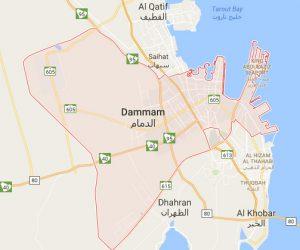 dammam map 1