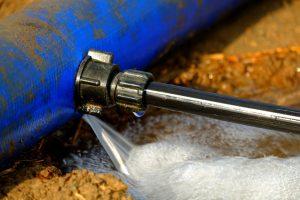 معالجة تسرب المياه من السطح